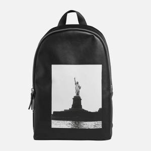 CK Jeans Men's Pop-Work Round Backpack - Statue of Liberty