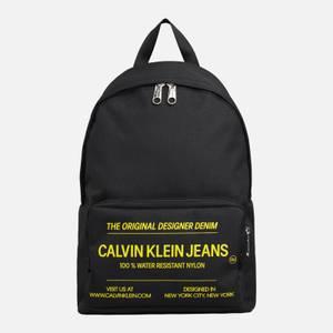 CK Jeans Men's Sport Essentials CMP Backpack - Black/Industrial Print