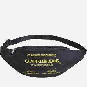 CK Jeans Men's Sport Essentials Streetpack - Black/Industrial Print