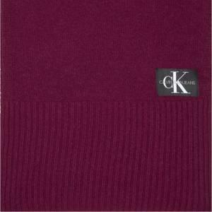 CK Jeans Men's J Basic Knitted Scarf - Tawny Port