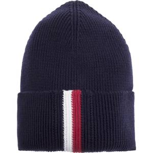 Tommy Jeans Men's Corporate Pima Cotton Beanie - Tommy Navy