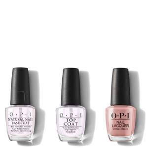 OPI Nail Lacquer Barefoot in Barcelona At-Home Manicure Bundle