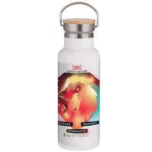 Harry Potter Gryffindor Chromatherapy Portable Insulated Water Bottle - White