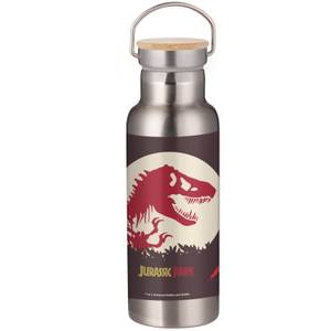 Jurassic Park T-Rex Portable Insulated Water Bottle - Steel