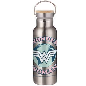 Wonder Woman Logo Portable Insulated Water Bottle - Steel