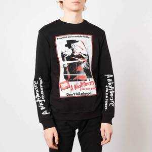 A Nightmare On Elm Street Don't Fall Asleep Sweatshirt - Black