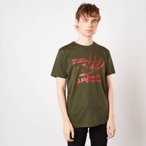 A Nightmare On Elm Street Welcome To My Nightmare Men's T-Shirt - Green
