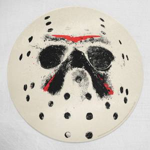 Friday 13th Jason Voorhees Round Chopping Board