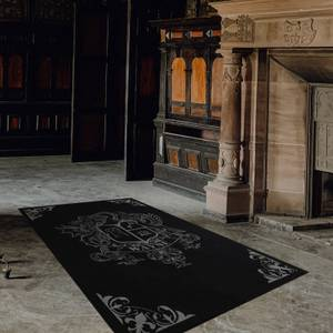 Exclusive DC Batman Wayne Manor Large Printed Area Rug 6 x 4ft