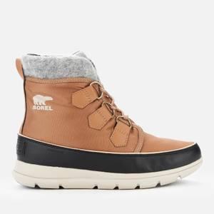 Sorel Women's Explorer Carnival Waterproof Boots - Elk