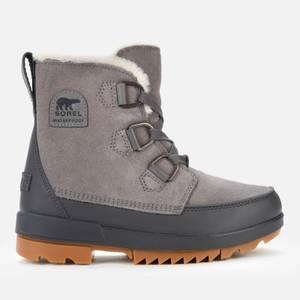 Sorel Women's Torino II Waterproof Suede Shell Boots - Quarry