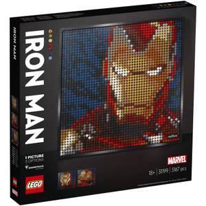 LEGO Art Marvel Studios Iron Man Wall Décor (31199)