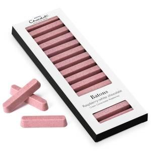 Batons - Raspberry/White