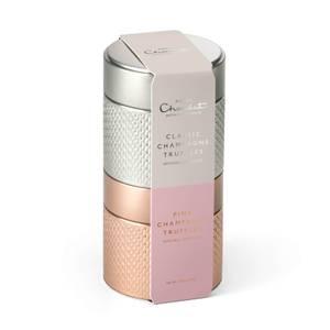 Pink & Classic Champagne Truffle Keepsake Tin