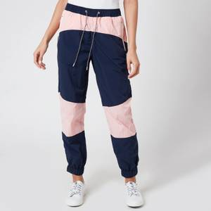 Tommy Jeans Women's TJW Colorblock Joggers - Black Iris/Pink Icing