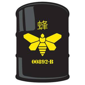 Breaking Bad Methylamine Barrel 67x100 cm Doormat/Rug