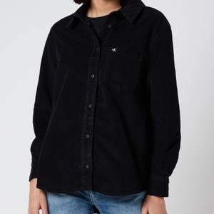 Calvin Klein Jeans Women's Corduroy Shacket - CK Black