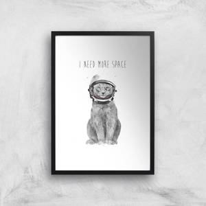 I Need More Space Giclee Art Print
