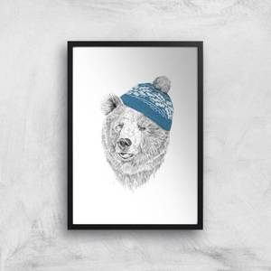 Hello Winter Giclee Art Print