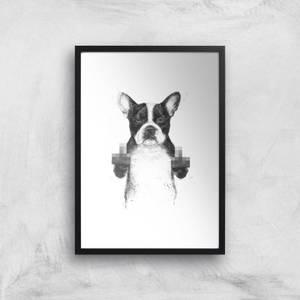 Censored Dog Giclee Art Print
