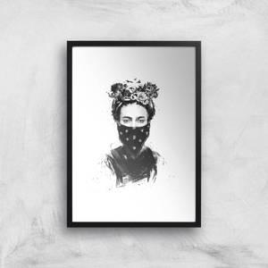 Rebel Girl Giclee Art Print
