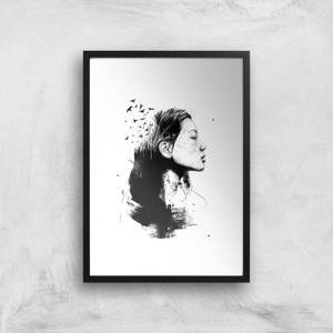 Open Your Mind To Darkness Giclee Art Print