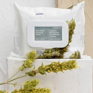 Korres Olympus Tea Detox Cleansing Wipes