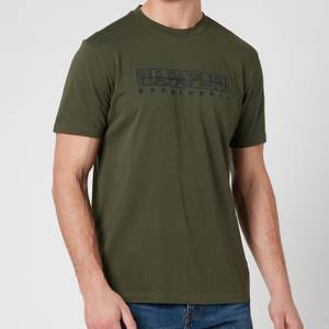 Napapijri Men's Sebel Short Sleeve T-Shirt - Green Depths