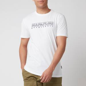 Napapijri Men's Sebel Short Sleeve T-Shirt - Bright White