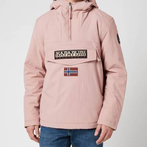 Napapijri Men's Rainforest Winter 2 Hooded Anorak Jacket - Woodrose Pink