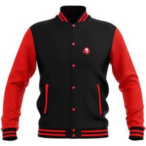 Grimmfest 2020 Unisex Varsity Jacket - Black/Red