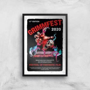 Grimmfest 2020 Tour Giclee Art Print