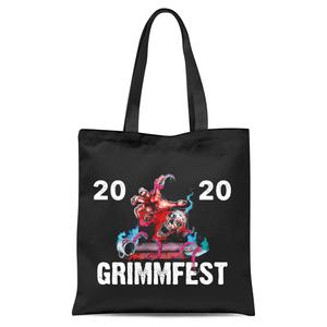Grimmfest 2020 Tote Bag - Black