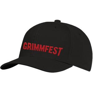 Grimmfest 2020 Font Logo Embroidered Cap