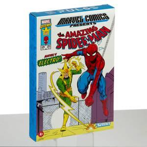 Hasbro Marvel Legends RETRO 9,5 cm Collection Spiderman & Marvel's Electro 2-Pack Actionfigure