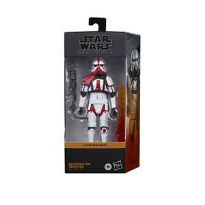Hasbro Star Wars The Black Series Incinerator Trooper Toy 6-Inch Scale The Mandalorian Collectible Figure