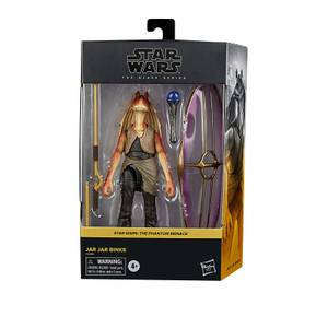 Hasbro Star Wars The Black Series Jar Jar Binks 6-Inch-Scale Star Wars: The Phantom Menace Collectible Deluxe Action Figure