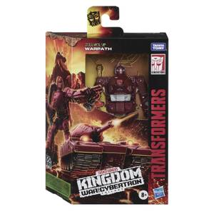 Hasbro Transformers Generations War for Cybertron: Kingdom Deluxe WFC-K6 Warpath Action Figure