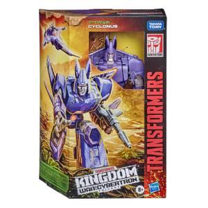 Hasbro Transformers Generations War for Cybertron: Kingdom Voyager WFC-K9 Cyclonus Actionfigur