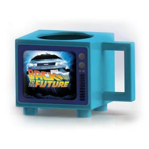 Mug Thermoreactif Retour vers le Future Retro TV