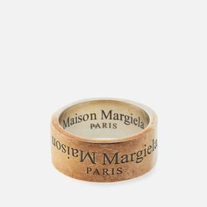 Maison Margiela Men's Branded Ring - Brunito