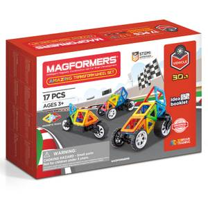 Magformers Amazing Transform Car Set