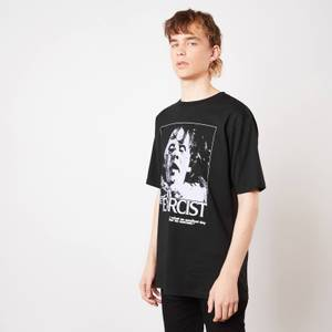 The Exorcist Possessed Unisex Oversized Heavyweight T-Shirt - Zwart