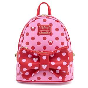 Loungefly Disney Minnie Mouse Pink Bow Mini Backpack