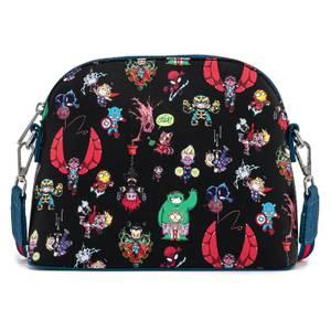 Loungefly Marvel Skottie Young Chibi Group Crossbody