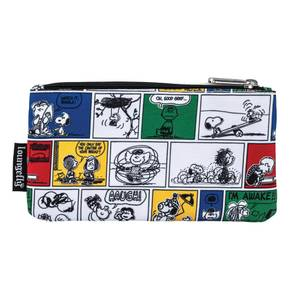 Loungefly Peanuts Comic Strip Aop Nylon Pouch