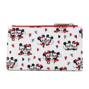 Loungefly Disney Mickey and Minnie Mouse Love Aop Wallet