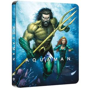 Aquaman - Zavvi Exklusives 4K Ultra HD Steelbook (Inkl. 2D Blu-ray)