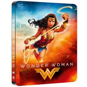 Wonder Woman - Exclusivité Zavvi - Steelbook 4K Ultra HD (Blu-ray 2D inclus)