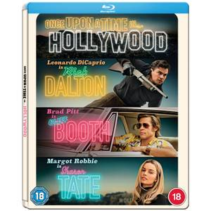 Once Upon a Time In Hollywood - Steelbook Blu-ray - Exclusivité Zavvi